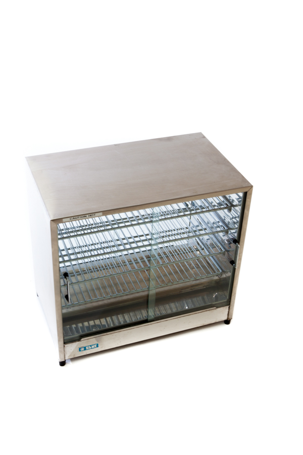 Piewarmer w. Glass Doors – 5 Shelf (Medium)