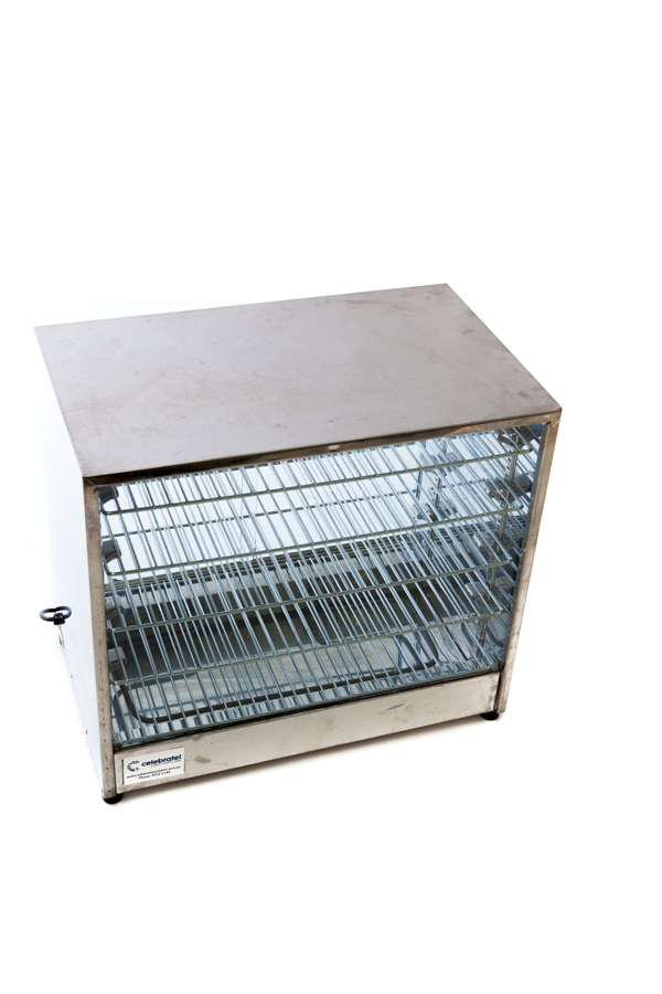 Piewarmer w. Glass Doors – 4 Shelf (Small)
