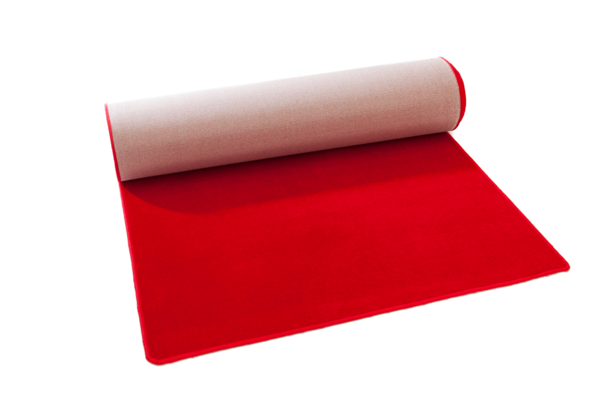 Carpet Runner – Red (1.2m x 8m)