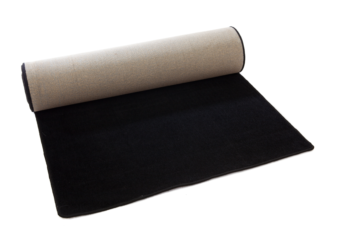 Carpet Runner – Black (1.2m x 8m)