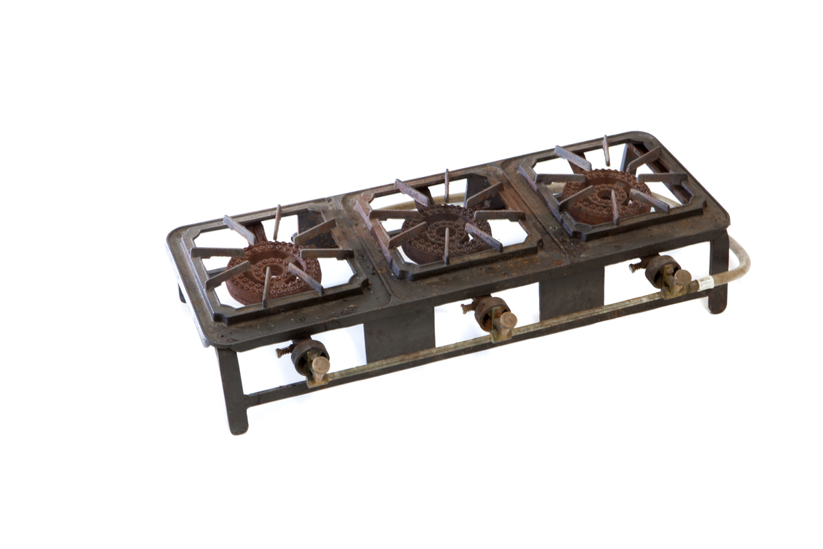Gas Ring w. Gas Bottle – 3 Burner