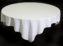 White Tablecloth –  1.8m Round Table
