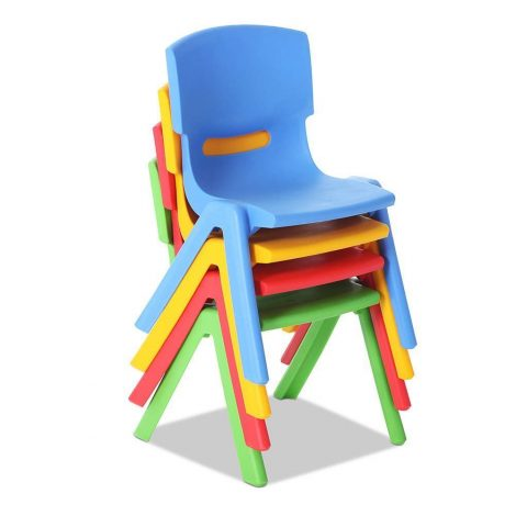 Children's Stackable Plastic Chair