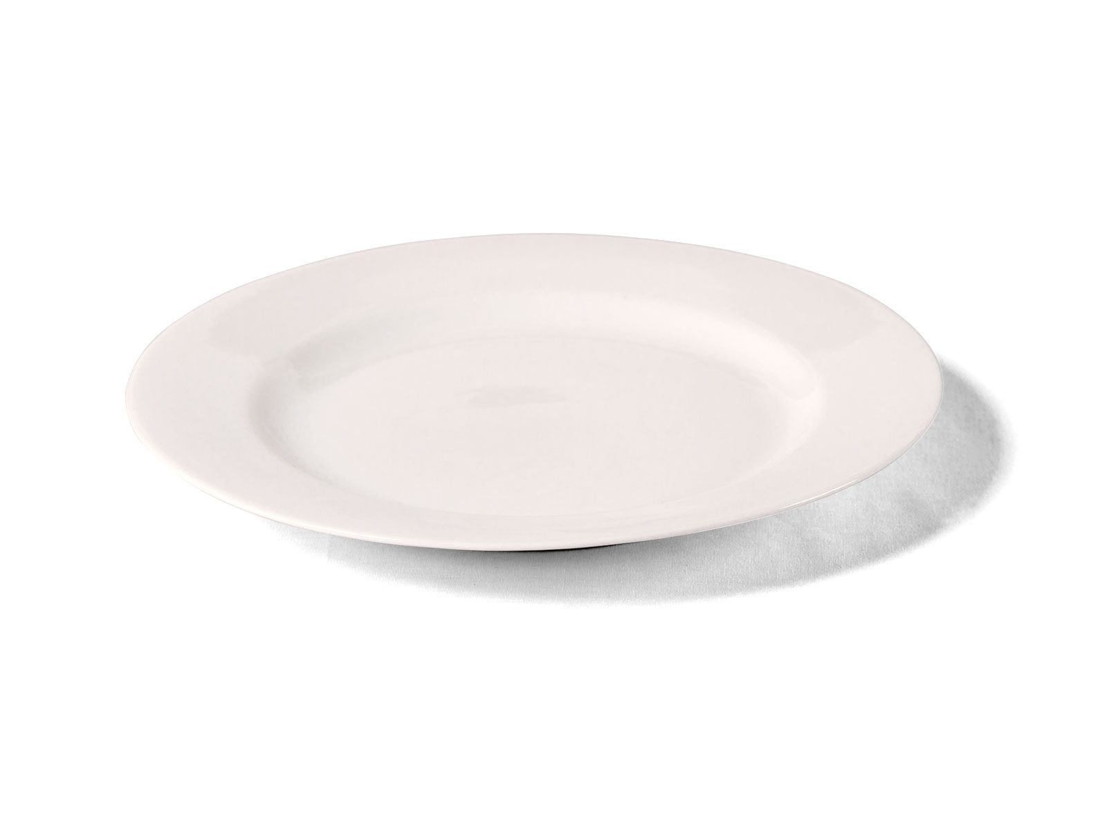 Plate – White Entree