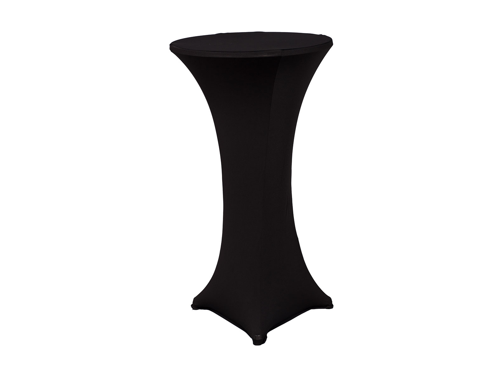 Cocktail Table Sock – Black Linen