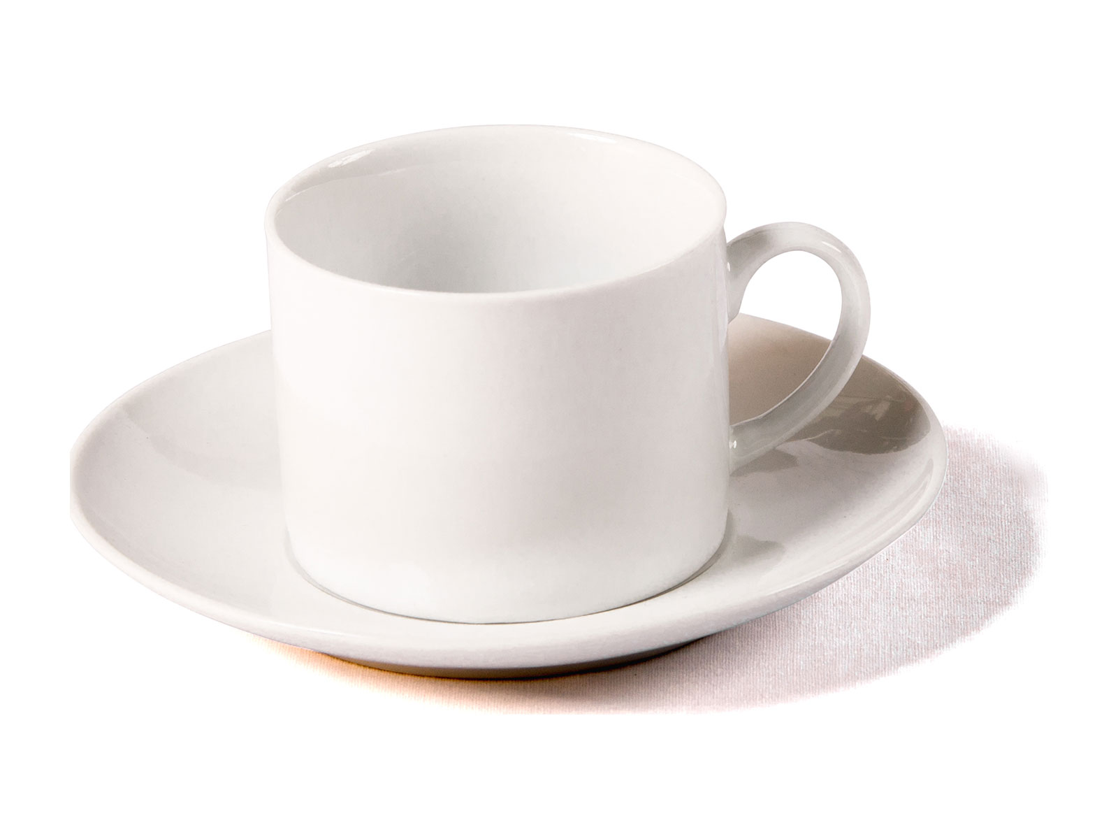 Cup and Saucer – White