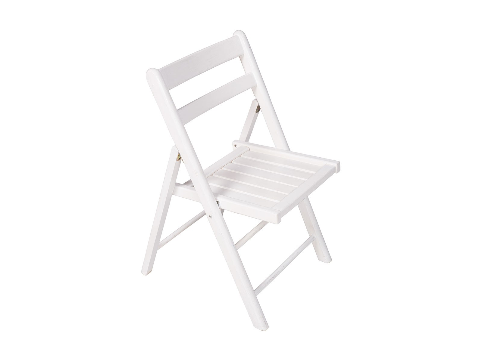 Folding Chair – White Timber