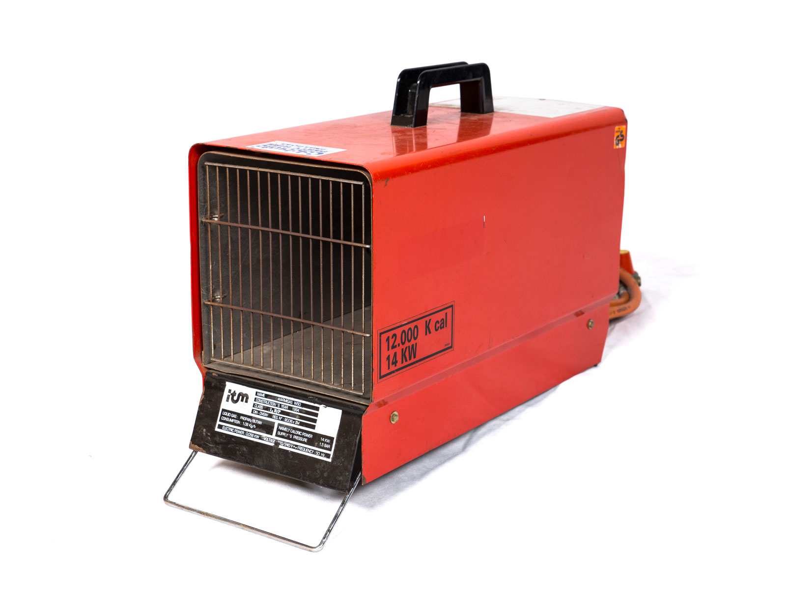 Heater w. Gas Bottle – Blower