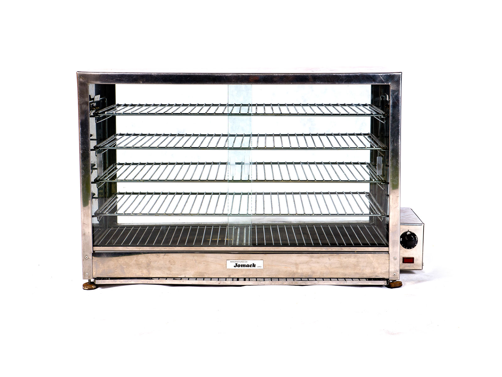 Piewarmer w. Glass Doors – 5 Shelf (Large)