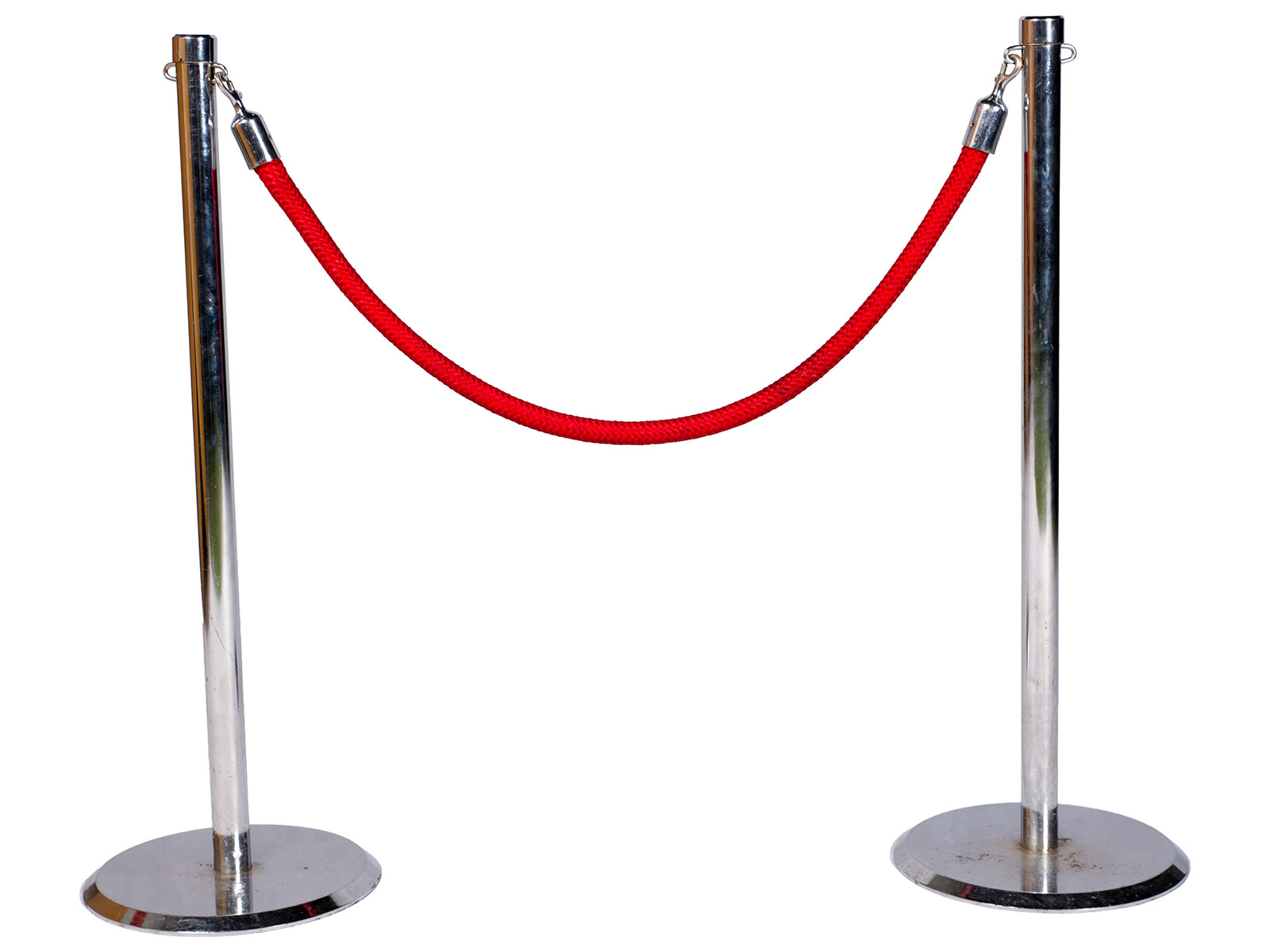 Barrier Rope w. Poles – 1.5m