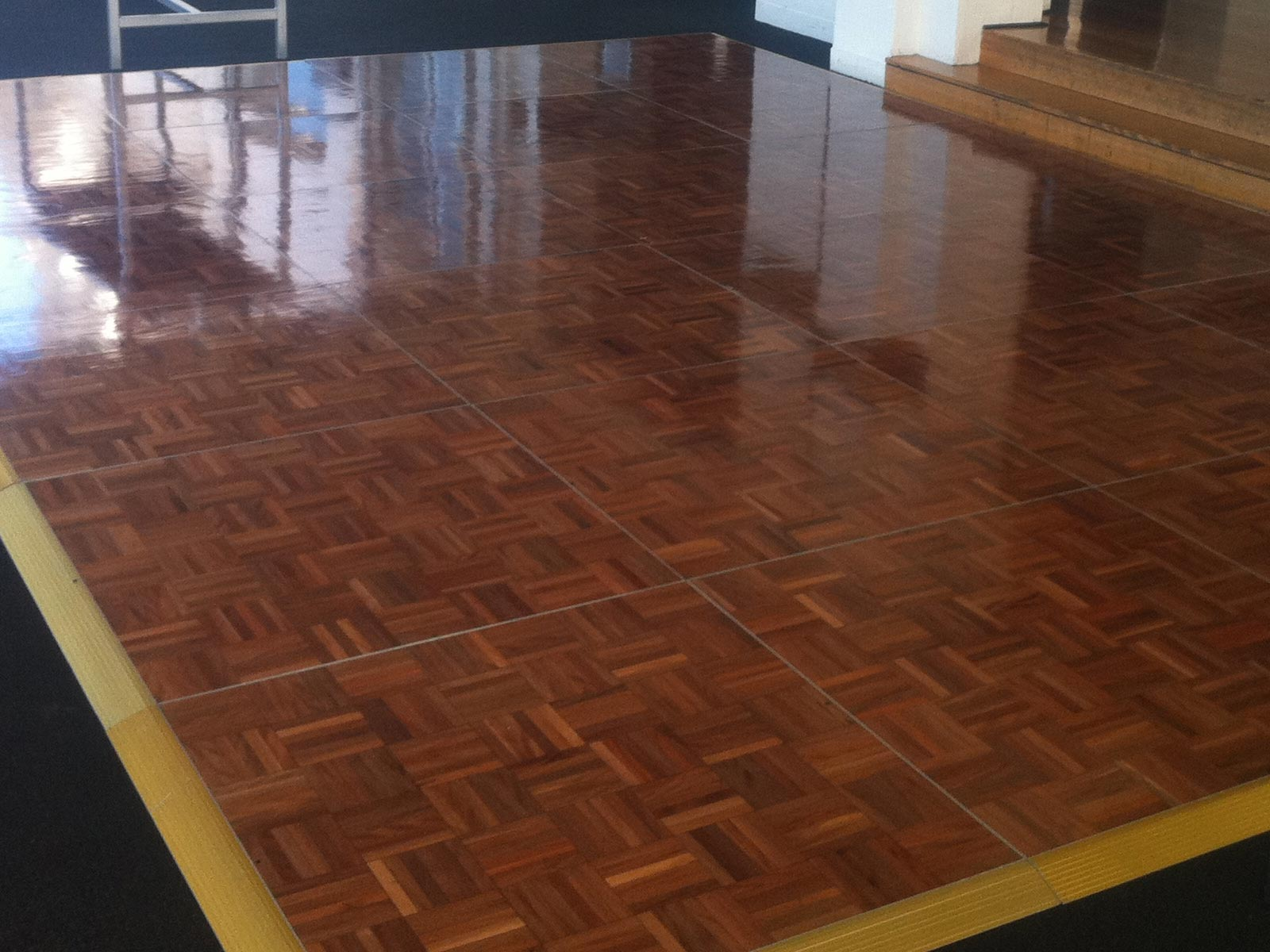 Indoor Dance Floor – Parquetry