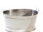 Ice Bucket – Large Stainless Steel (Oval)