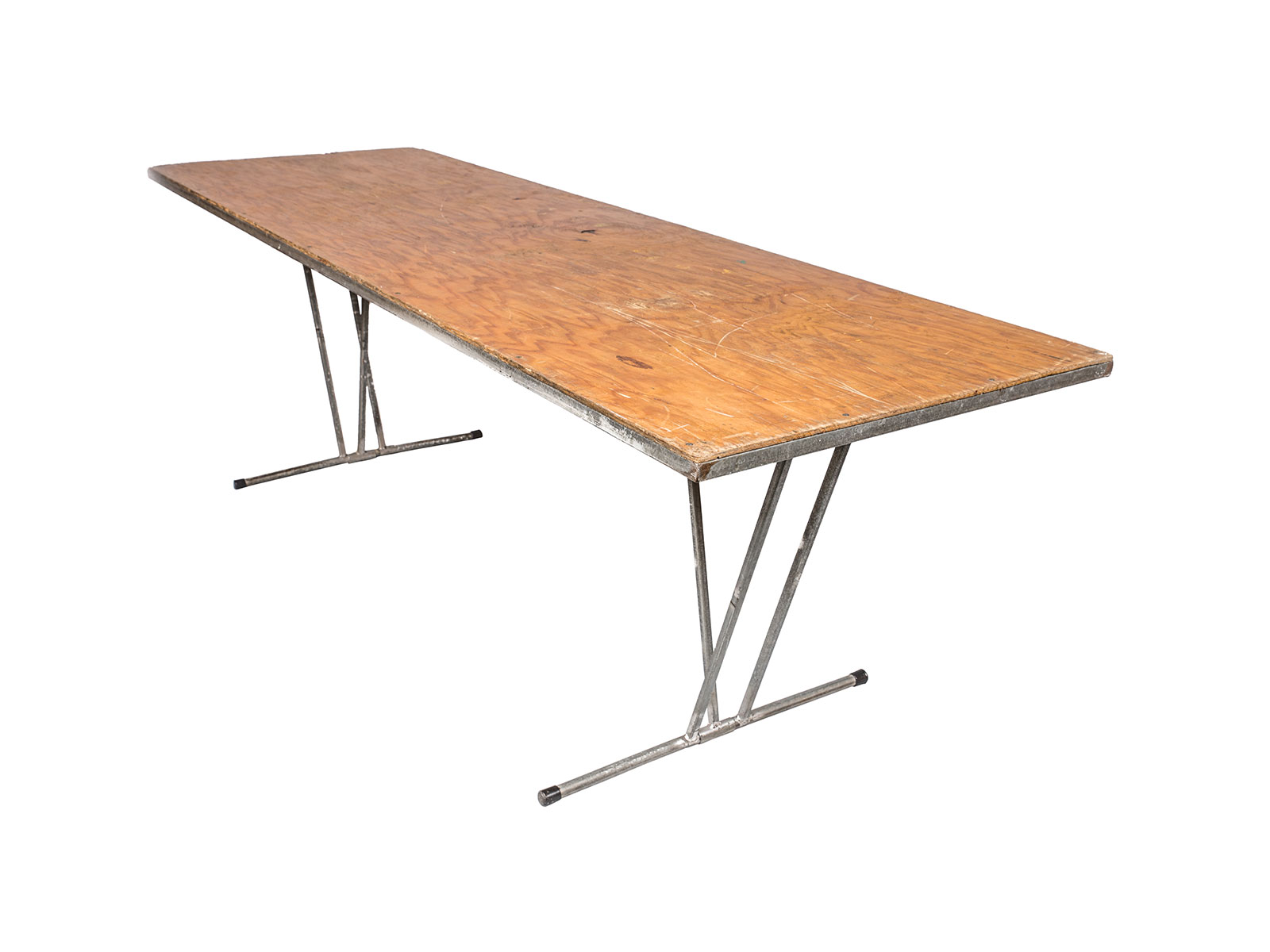 Trestle Table – Timber (2.4m)