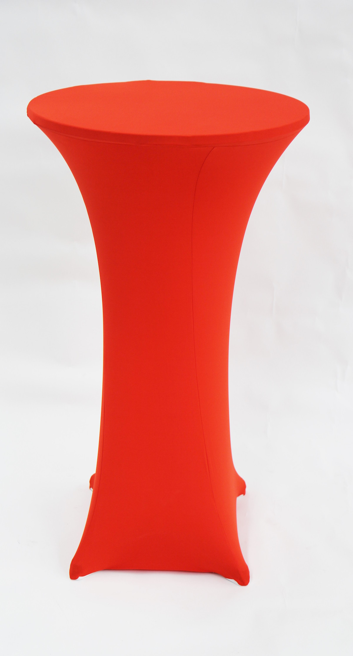 Cocktail Table Sock – Red Linen