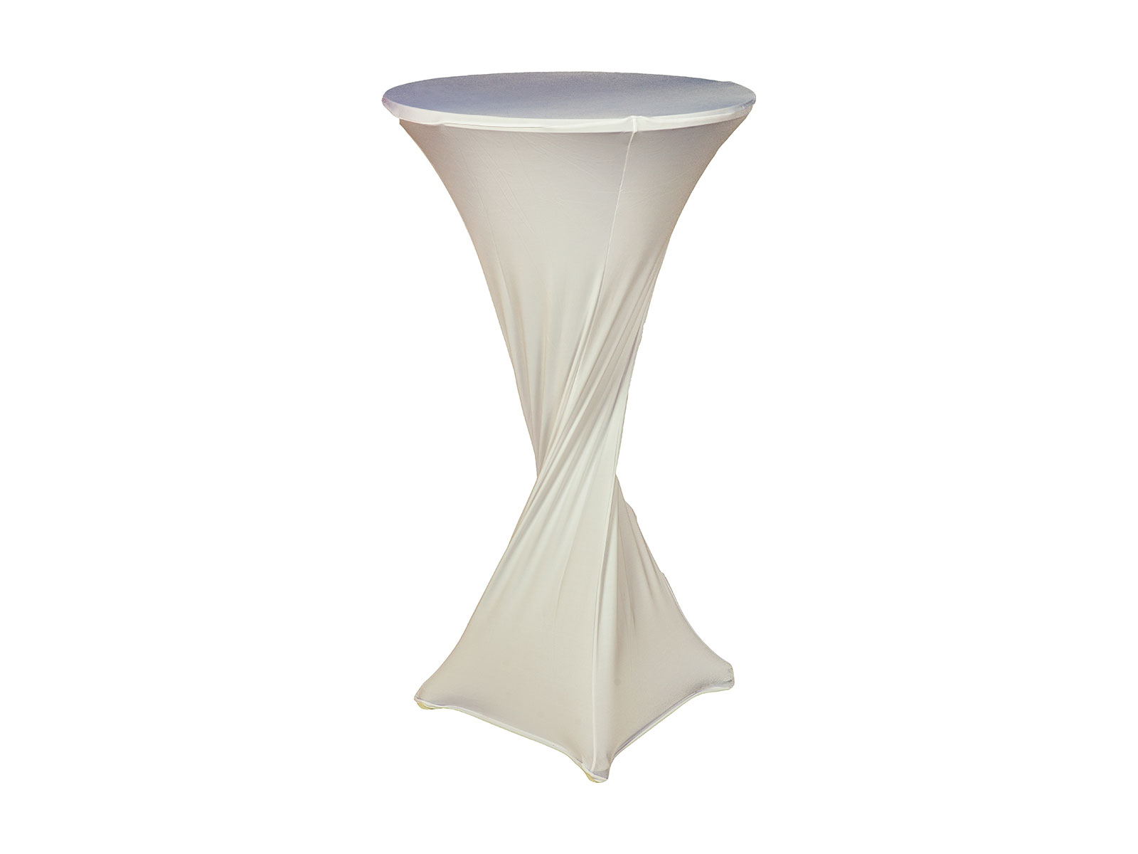 Cocktail Table Sock – White Linen