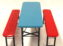 Children's Table and Bench Seat Set