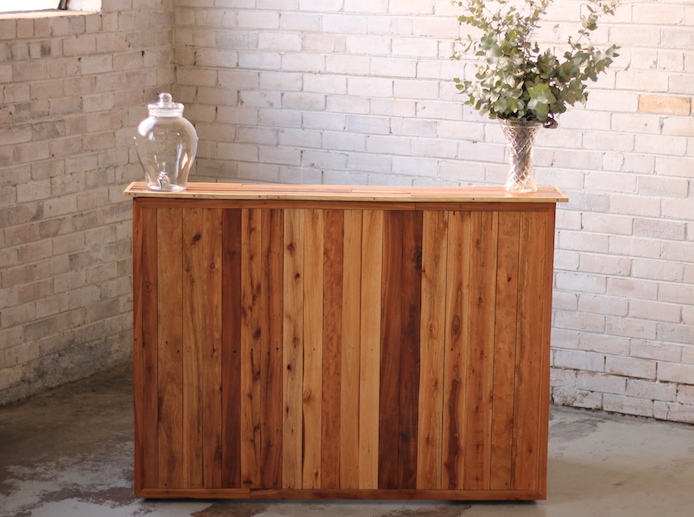 Portable Bar – Recycled Timber