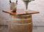 Wine Barrel Timber Top – Single Barrel
