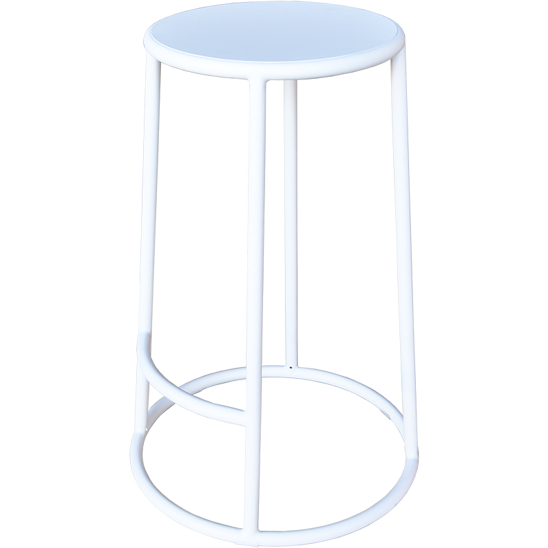 Bongo Bar Stool – White