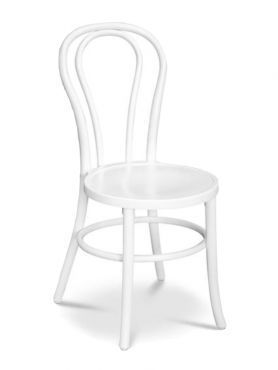 Dining Chair – Bentwood – White