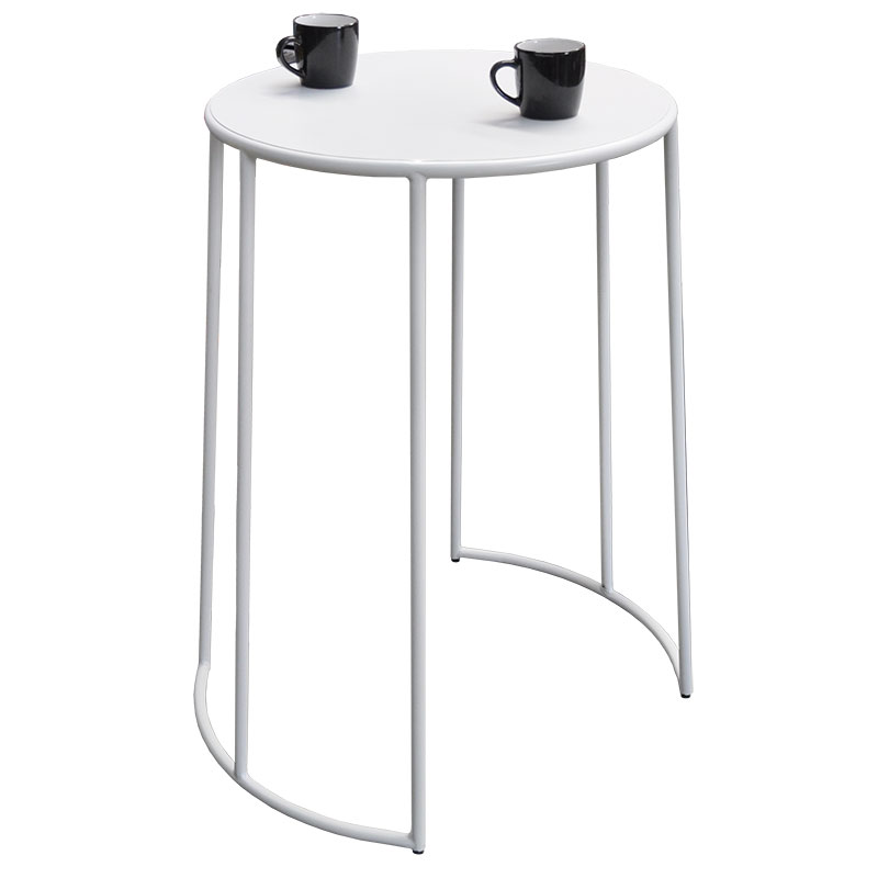 Bongo Cocktail Bar Table – White