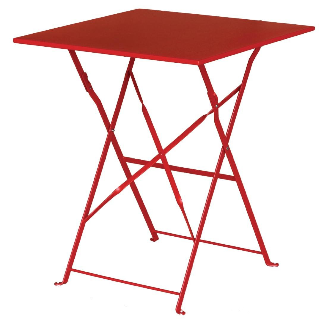 Pavement Table – The Parisian – Red