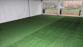 Plush Synthetic Grass (premium grass) – 10m x 2m – inc installation