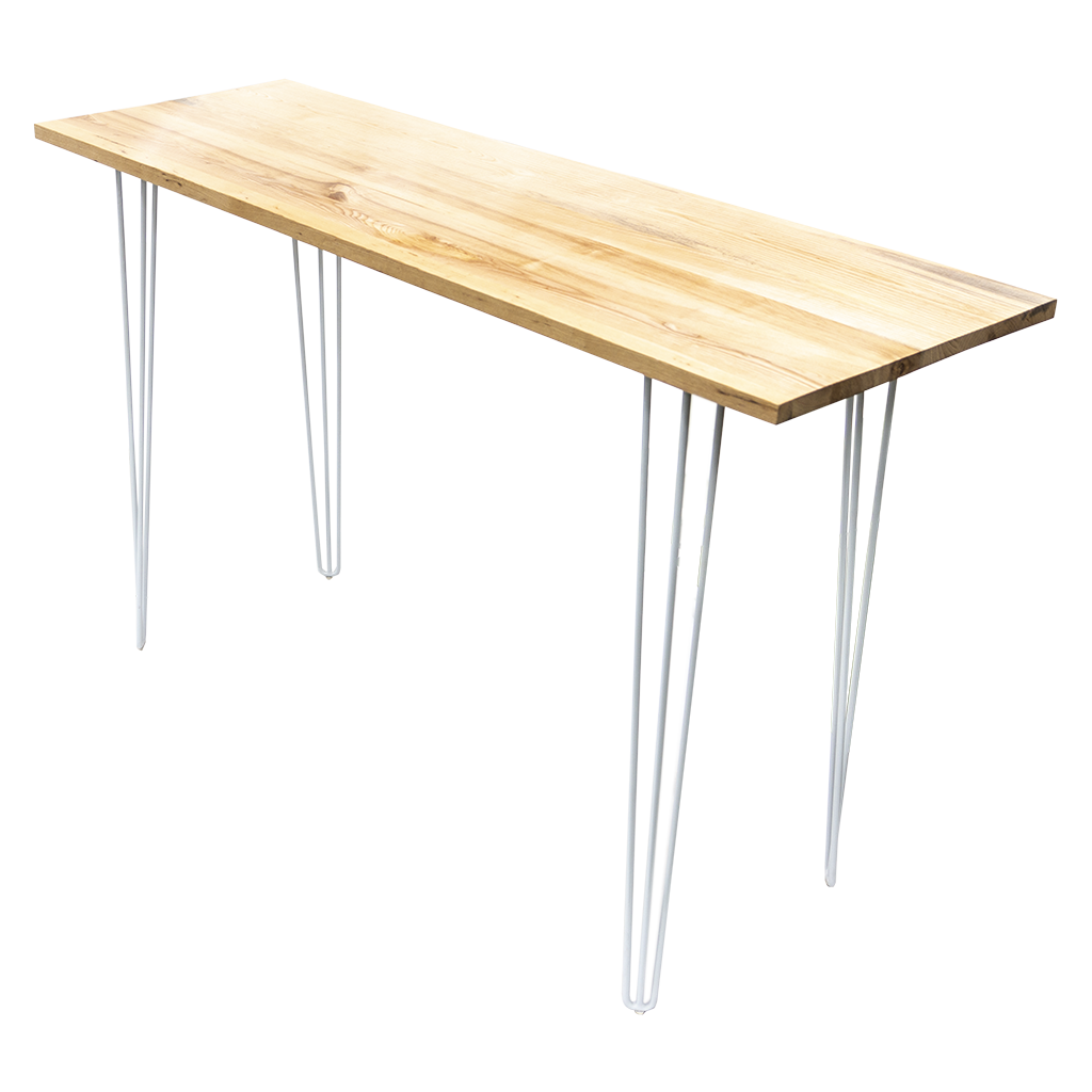 Cocktail Table – Rectangle, Timber Top with Hairpin Legs