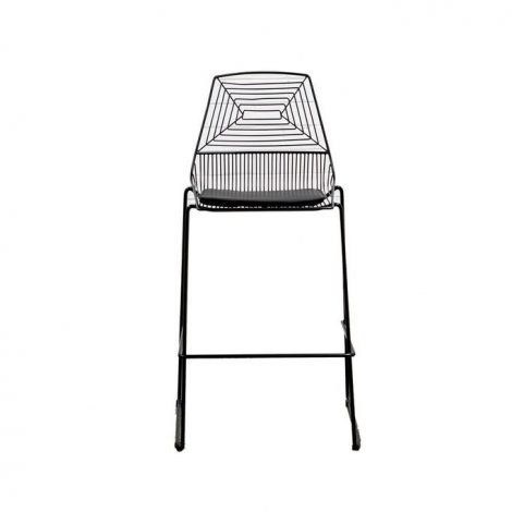 Wire Bar Stool – Black