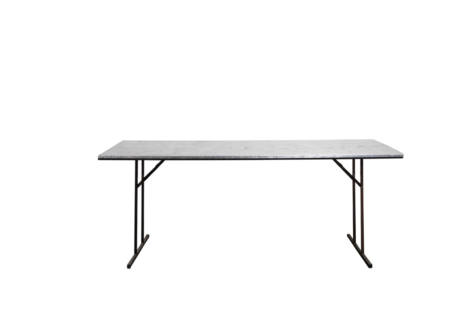Catering Trestle Table – Bench Height, 2.4m x 0.8m